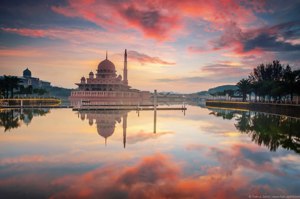 Blissful Sunrise at Masjid Putra