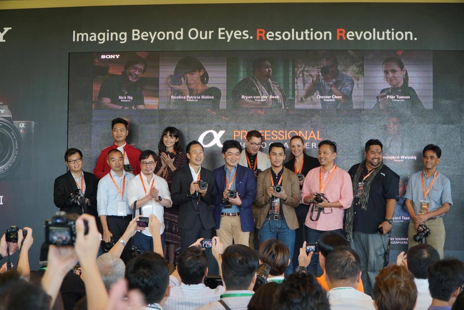 Sony Regional Ambassadors & Sony A7RII Launch