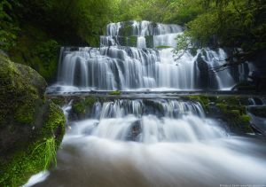 Purakaunui Falls, South Island, New Zealand