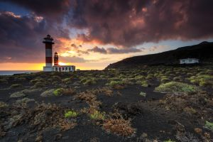 El Jardin De La Sal Sunset, Canary Islands, Spain